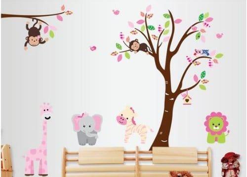 Vinilo de arbol infantil - Vinilo arbol infantil ...