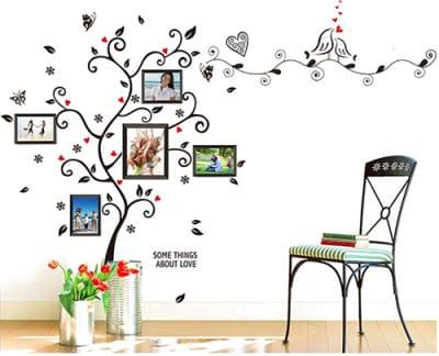 vinilo-arbol-fotos-silla