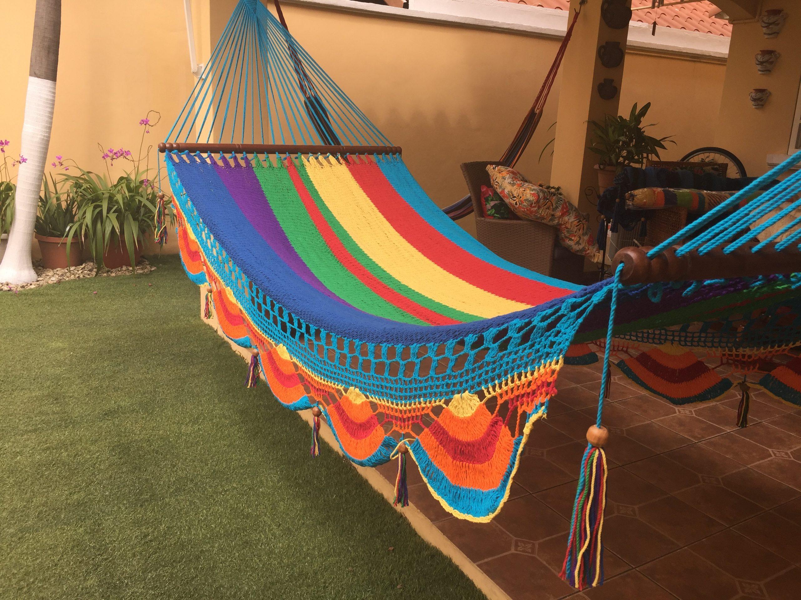 hamaca multicolor