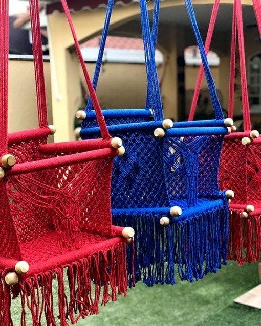 silla hamaca colgante para bebe niño - tienda online de decoración