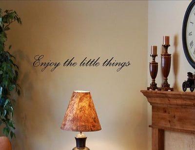 vinilo enjoy-the-little-things