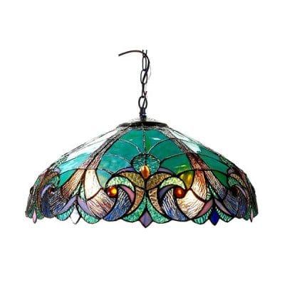lampara-vitral-verde2