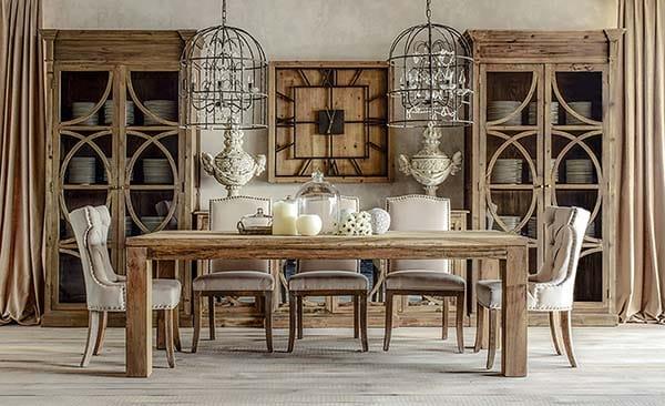 Lampara jaula for Milanuncios muebles de comedor