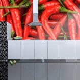 Foto mural chiles
