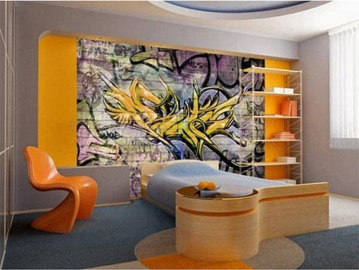Foto mural Grafiti