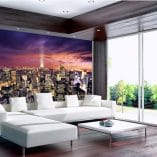 Foto mural NY atardecer
