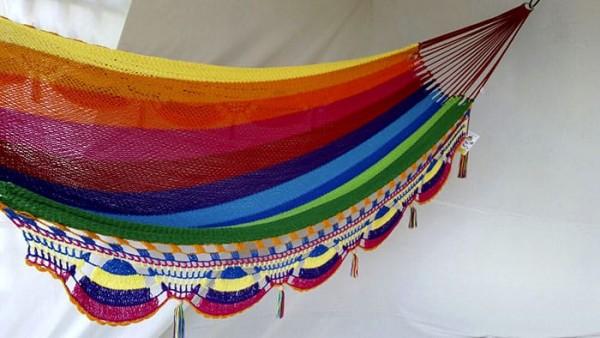 Hamaca multicolor sin palo