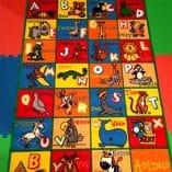 Alfombra de abecedario