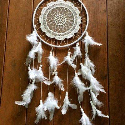 Atrapasuenos blanco regalos tienda online de decoración