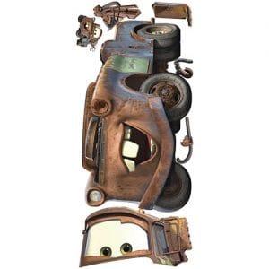 Vinilo de Cars Mater
