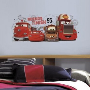 Vinilo de Cars friends finish