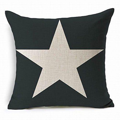 Cojin estrella azul
