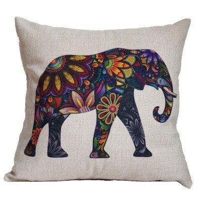 Cojin con diseño de elefante