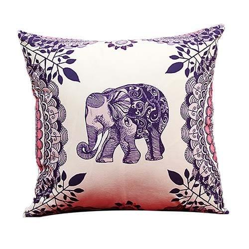 Cojin Elefante morado