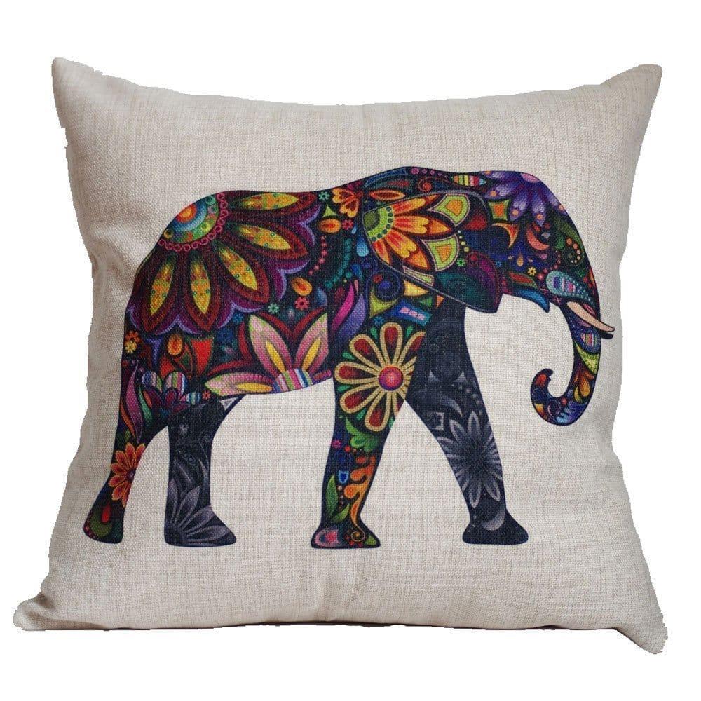 Cojin con diseño de elefante 1