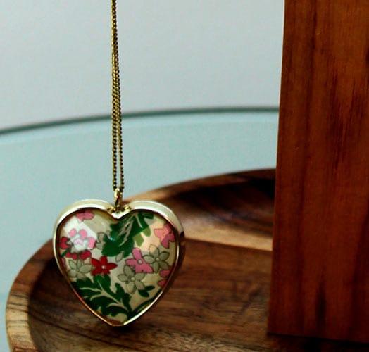 Collar de corazon