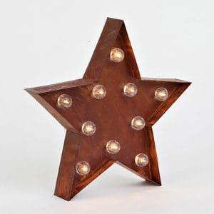Lampara de estrella