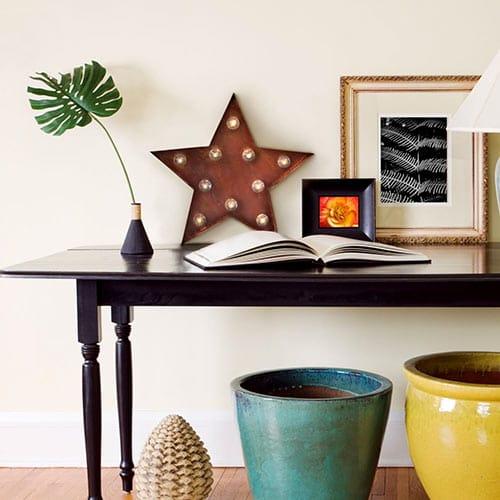 Lampara de estrella regalos tienda online de decoración