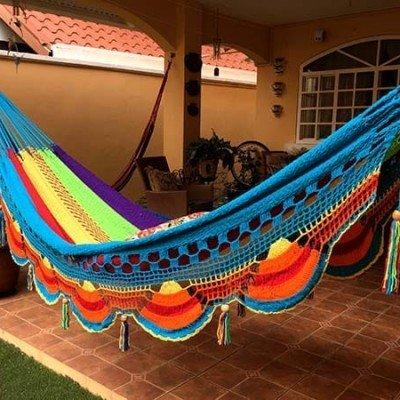 Hamaca Multicolor sin palo Configurada