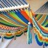 Hamaca multicolor fleco zig zag