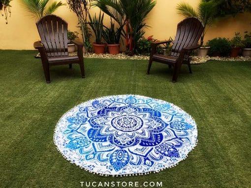 Mandala celeste y azul regalos tienda online de decoración