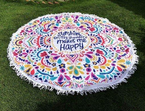 Mandala Redonda sunshine regalos tienda online de decoración