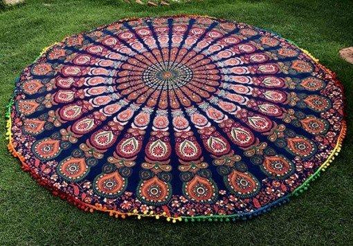 Mandala Redonda toalla