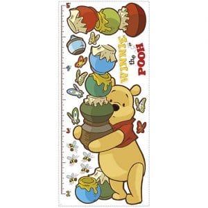 Vinilo de Pooh para medir estatura