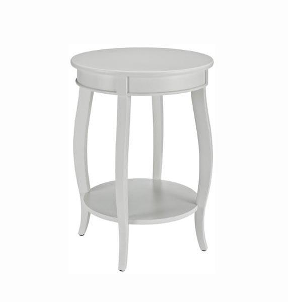 Mesa blanca madera 1