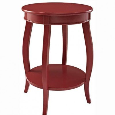 Mesa roja madera