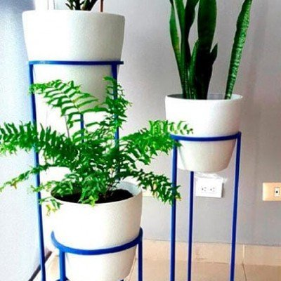 pedestal tres plantas