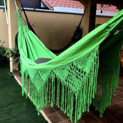 hamaca verde de lujo - tienda online de decoración