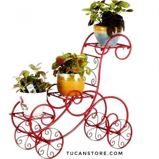 Estante para plantas glamour macetero decoración para jardín