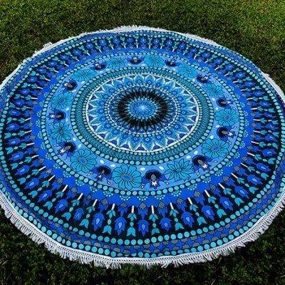 mandala azul y celeste XL regalos tienda online de decoración