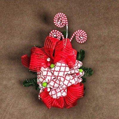adorno navideño caramelitos tienda de decoración