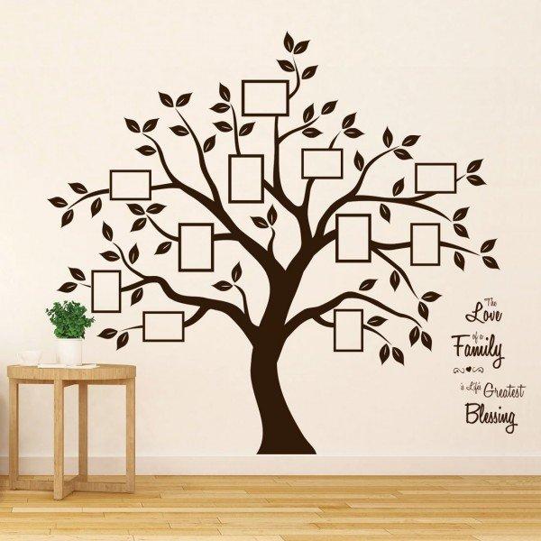 Vinilo de arbol negro for Tipos de arboles decorativos
