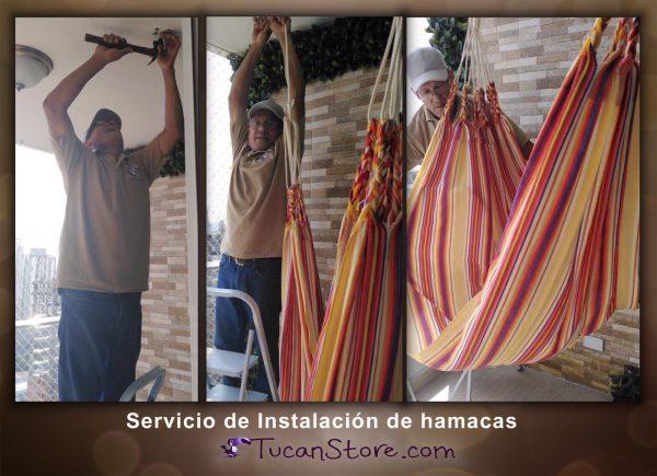 Servicio de instalacion de hamacas